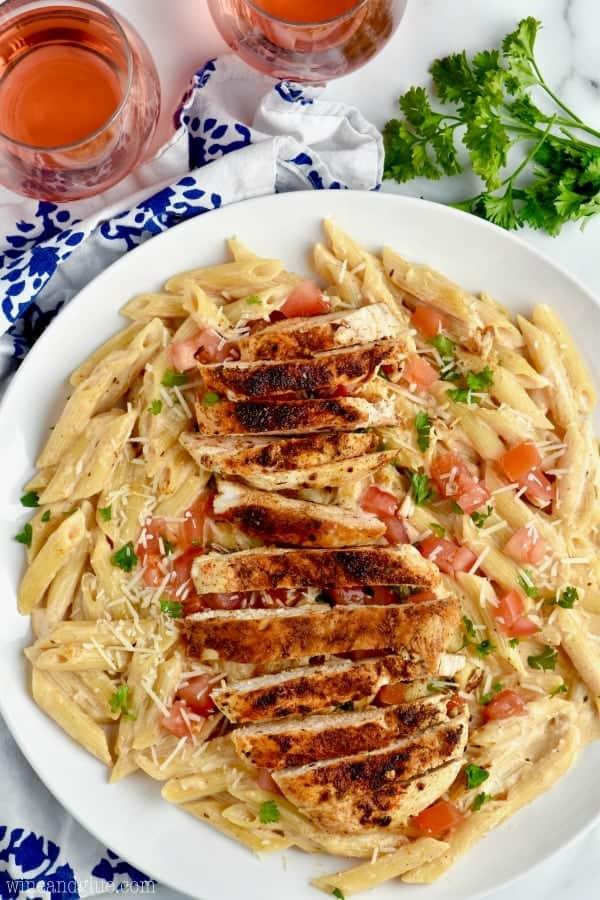 Spicy and Creamy Cajun Chicken Pasta