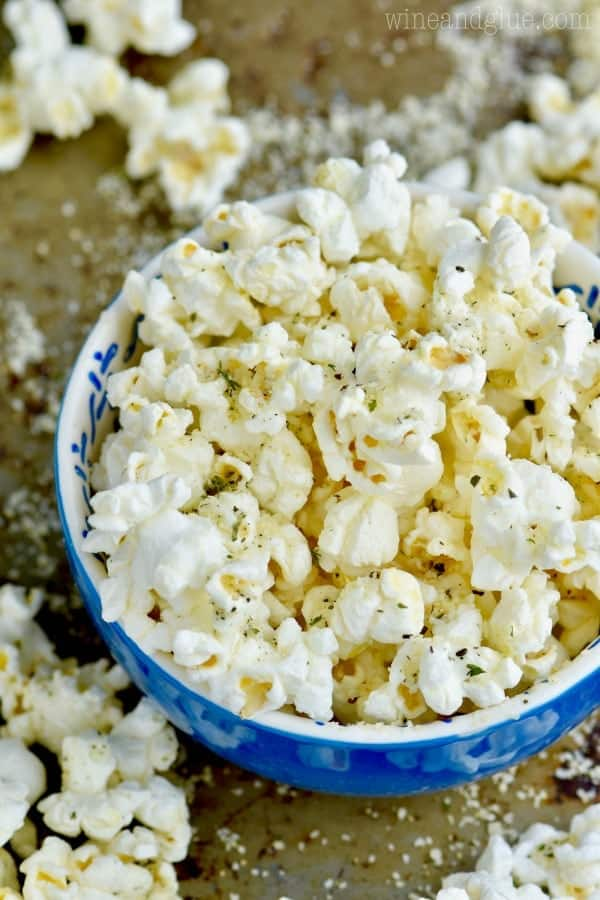 This Italian Popcorn is such an easy snack that you can feel great about!