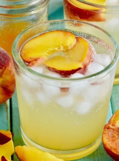 Peach Vodka Smash