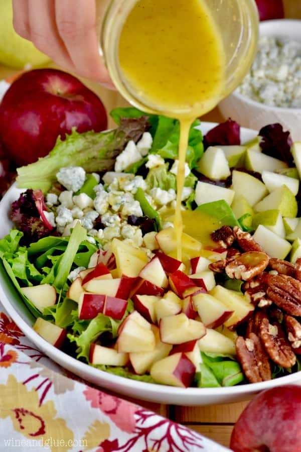 Apple Pecan Fall Salad