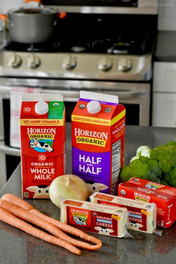 Horizon products make for the best soup!
