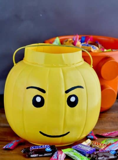 Lego Halloween Treat Bucket