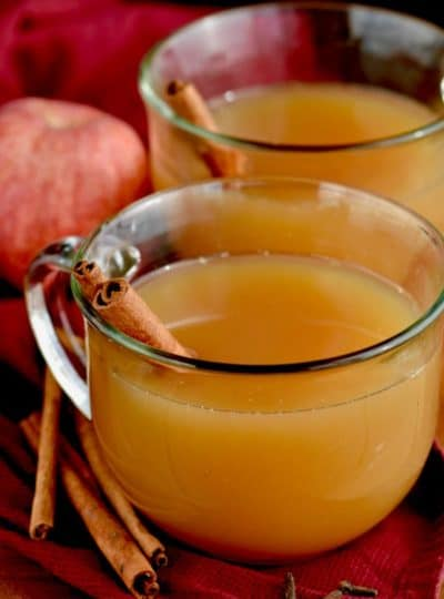 Slow Cooker Spiked Apple Cider