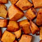 Brown Sugar Roasted Sweet Potatoes