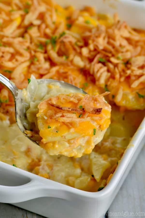 You will make this potato casserole recipe again and again.