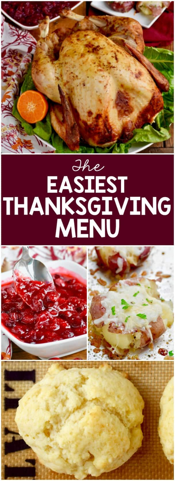 The Easiest Thanksgiving Menu