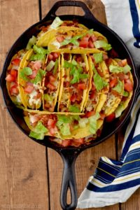 This oven baked taco recipe is full of creamy ranch flavor!