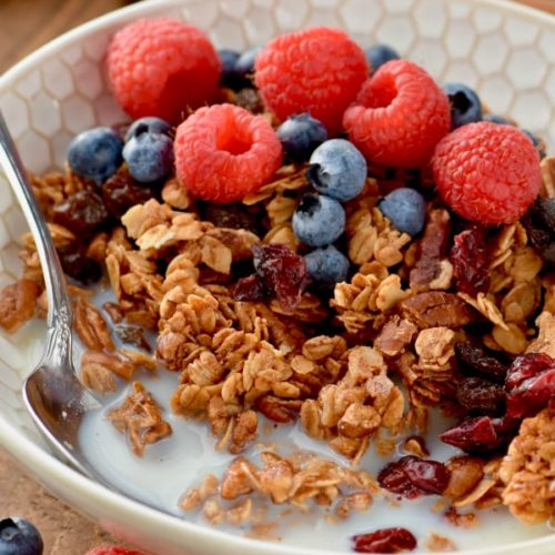 how to make simple healthy granola