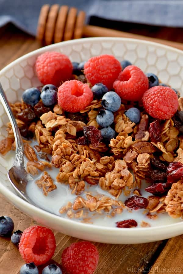 This crunch granola recipe is just what you need to get your morning started!