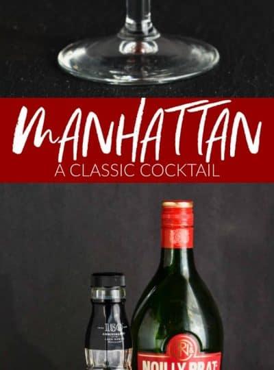 Manhattan Drink Recipe