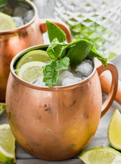 Moscow Mule with Gin