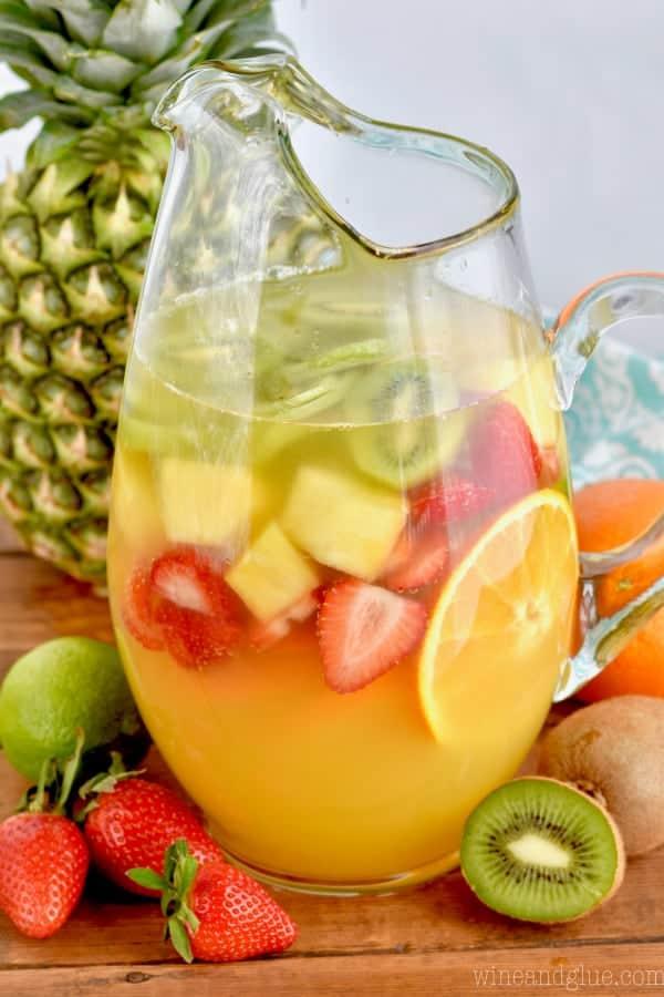 Tropical Margarita Sangria Recipe
