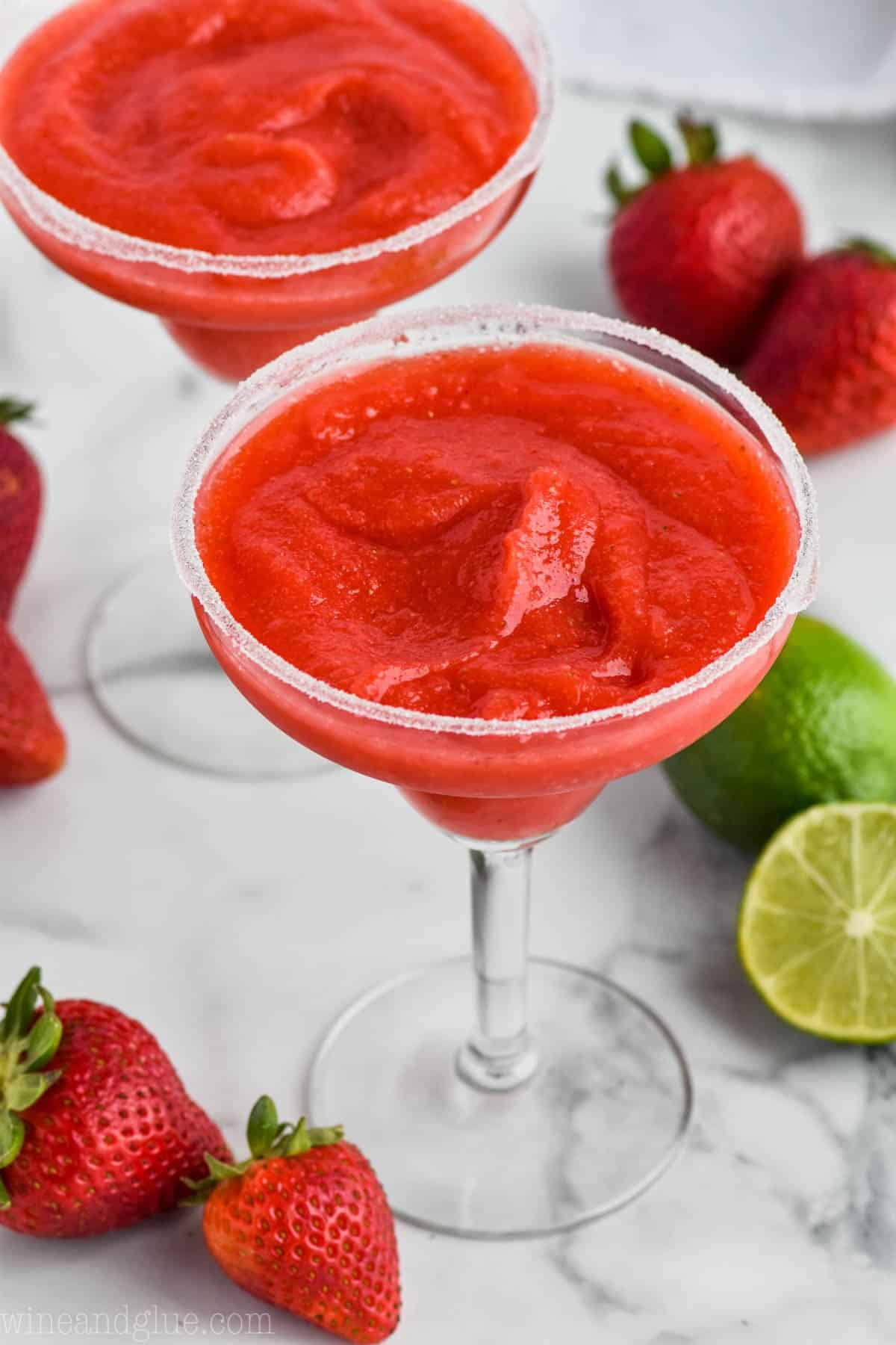 Strawberry Margarita Recipe Ditch The Mix Simple Joy