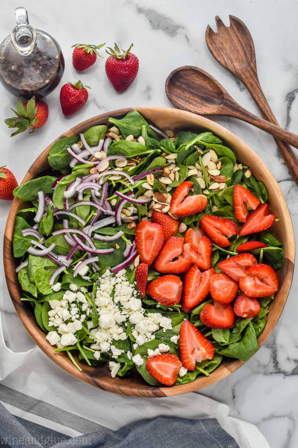 The Best Strawberry Spinach Salad Wine Amp Glue