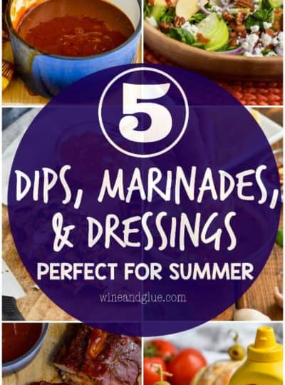 Five Dips, Marinades, and Dressings Perfect for Summer