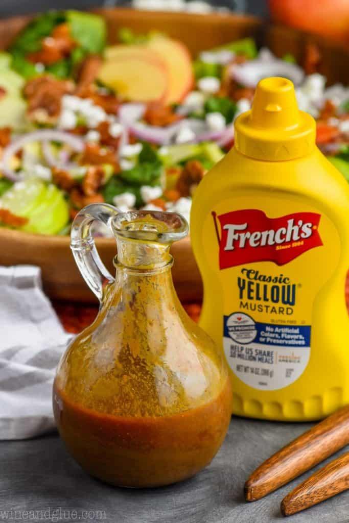spicy mustard vinaigrette
