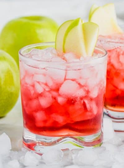 Cranberry Apple Whiskey Cocktail