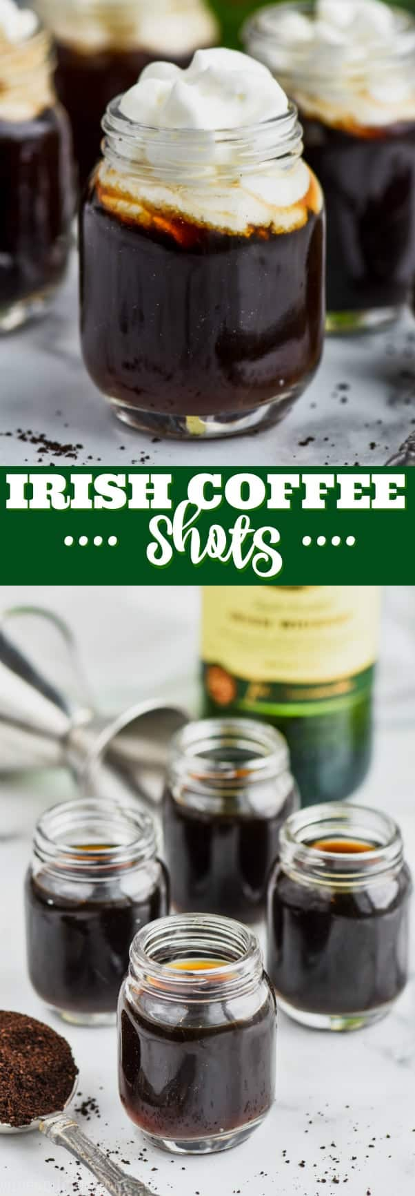 collage of shots of coffee