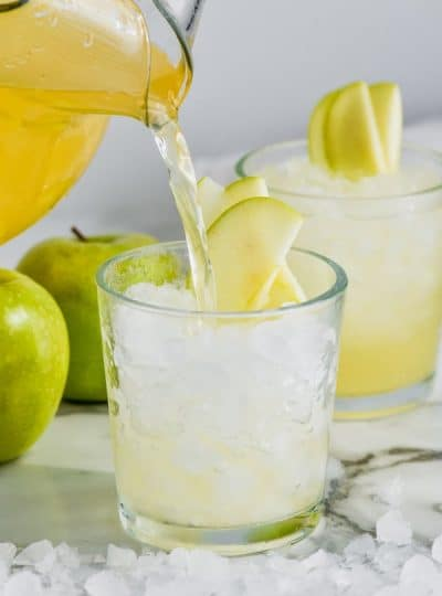 Caramel Apple Vodka Punch