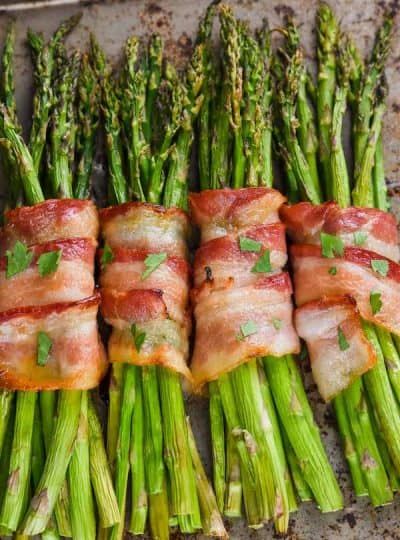 Bacon Wrapped Asparagus (oven)