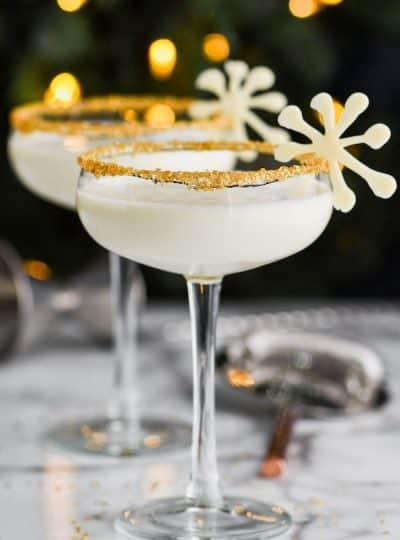White Christmas Martini