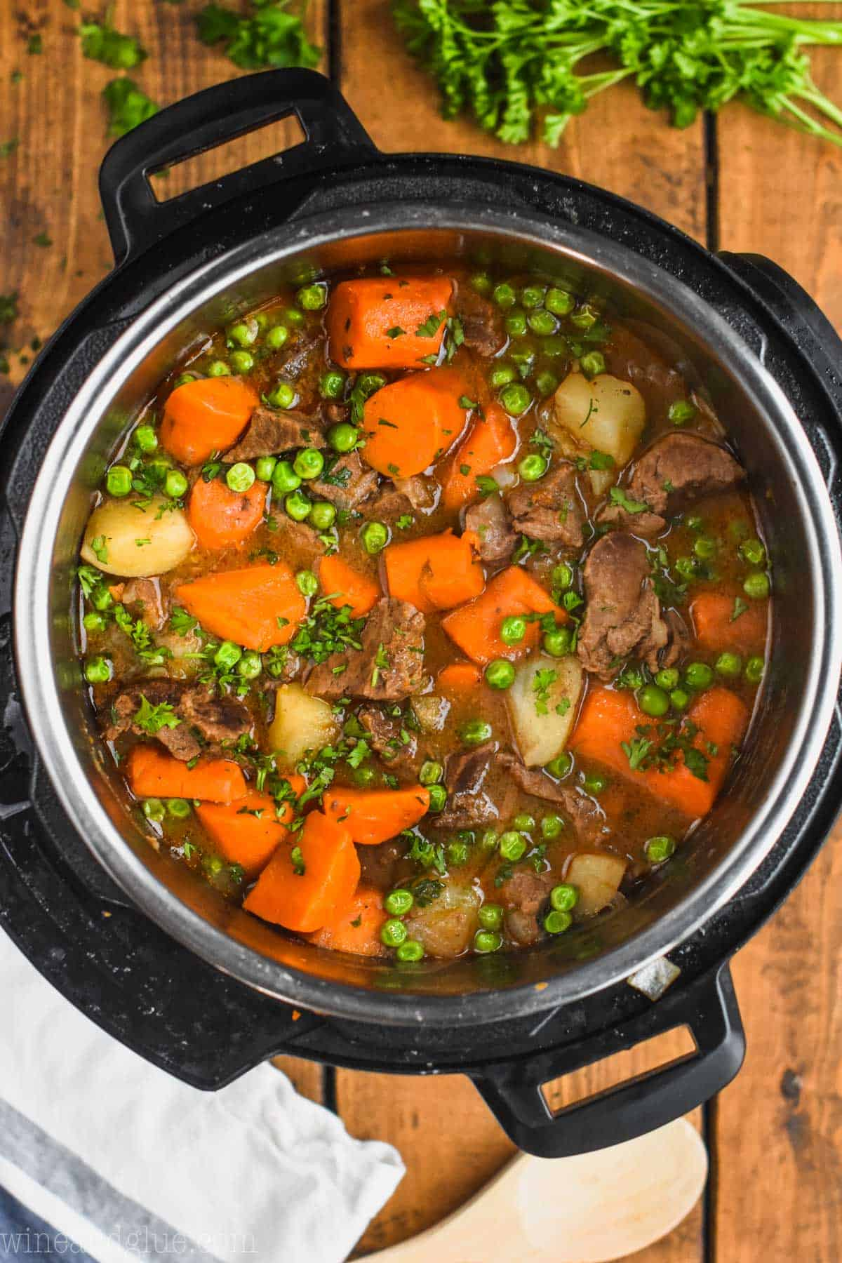 Instant Pot Beef Stew Wine Amp Glue