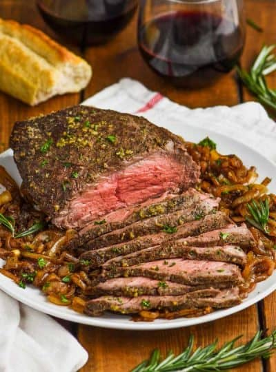 Easy Top Round Roast Beef Recipe