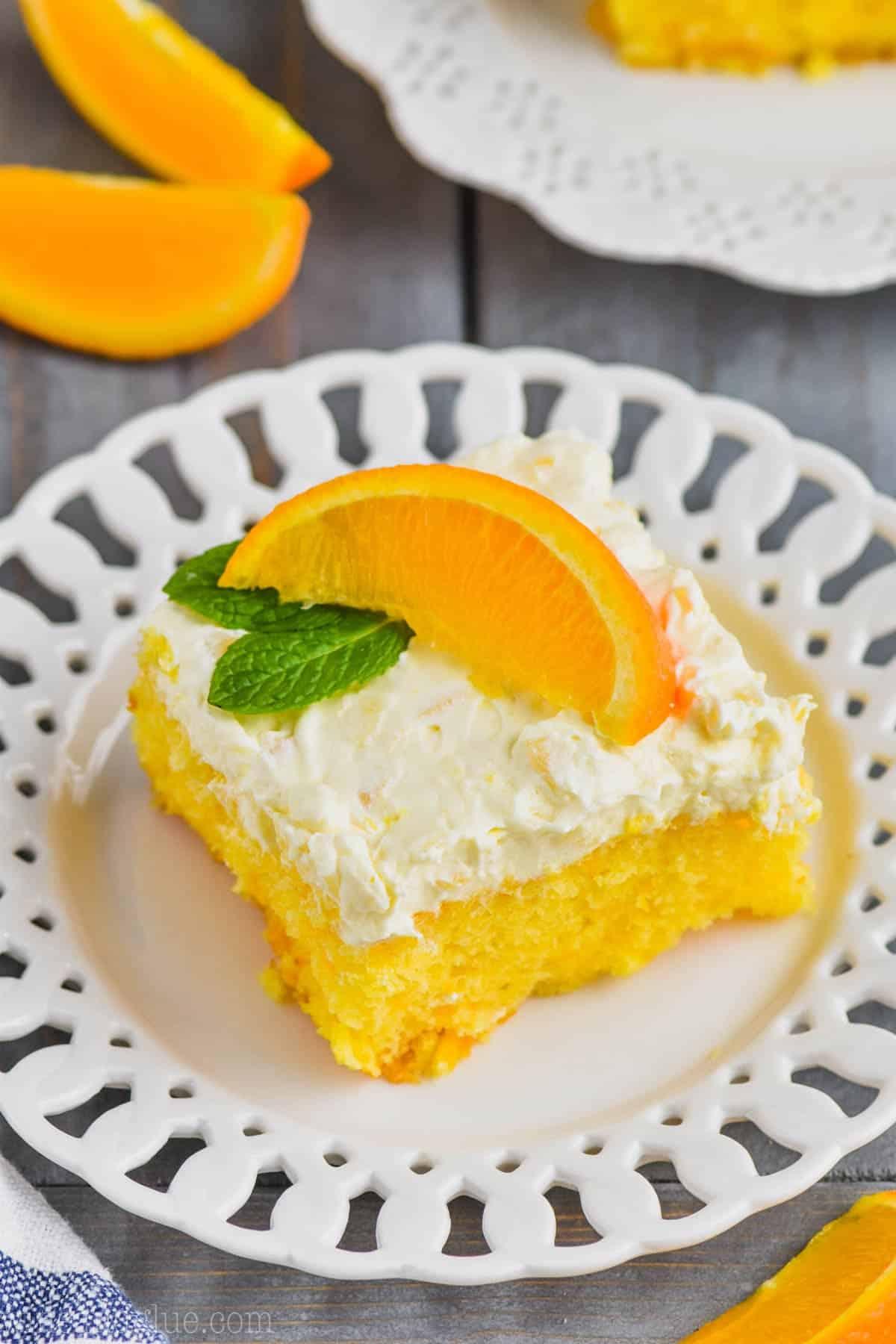 Easy Mandarin Orange Cake Recipe Wine Amp Glue