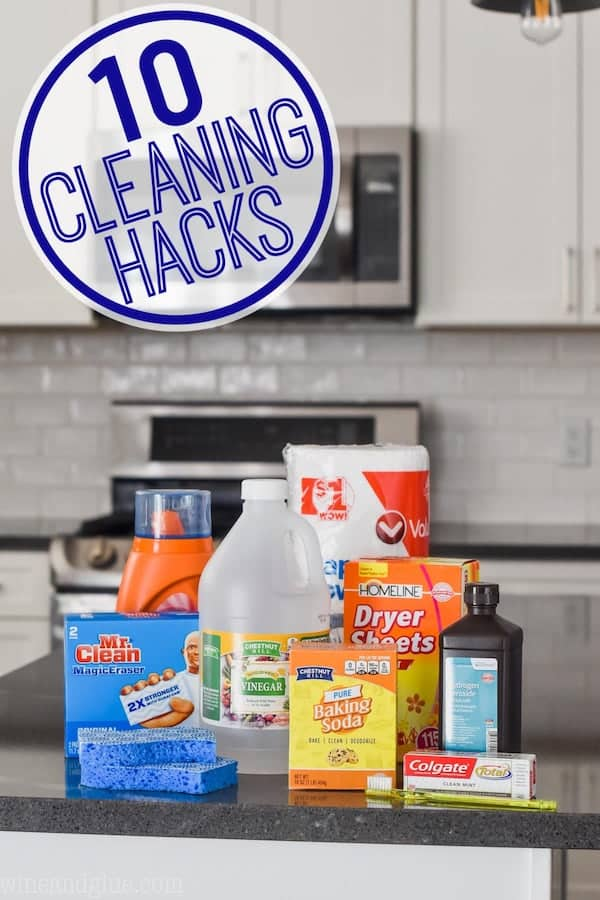 10 Easy Cleaning Tips Using Household Items