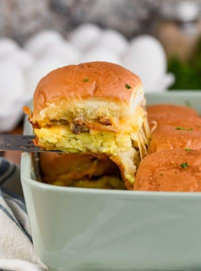 Breakfast Sliders Recipe