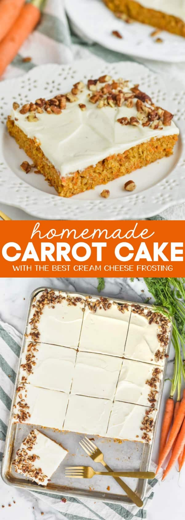 collage of best carrot cake photos