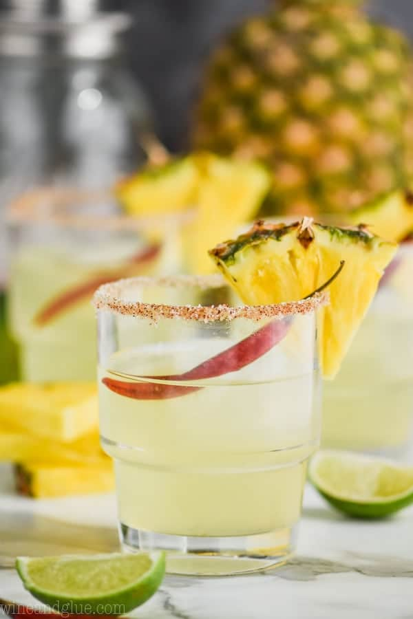Spicy Pineapple Margarita