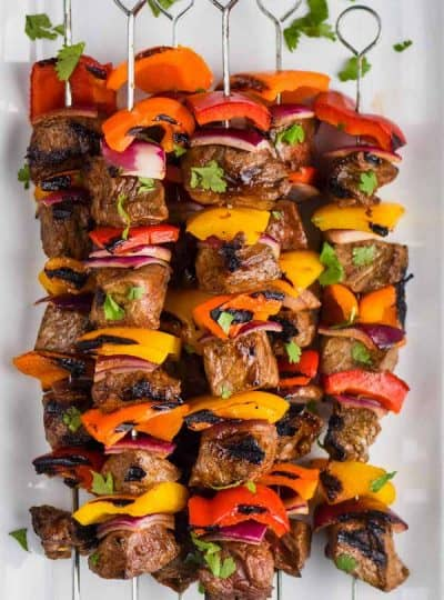 Fajita Steak Kabobs