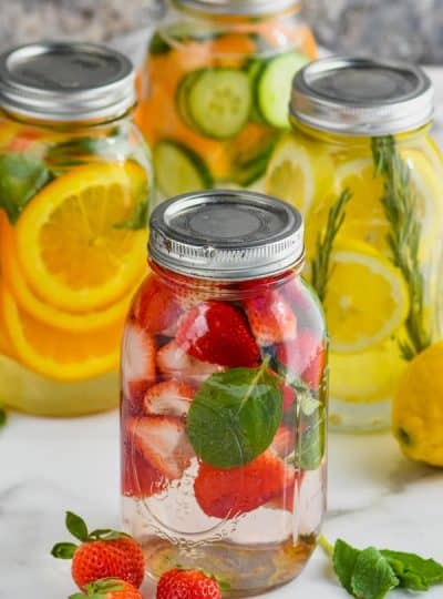 Infused Water Recipes and Primo Water System