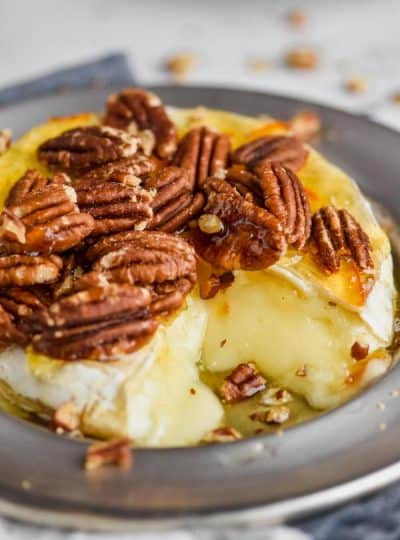 Orange Honey Baked Brie Recipe