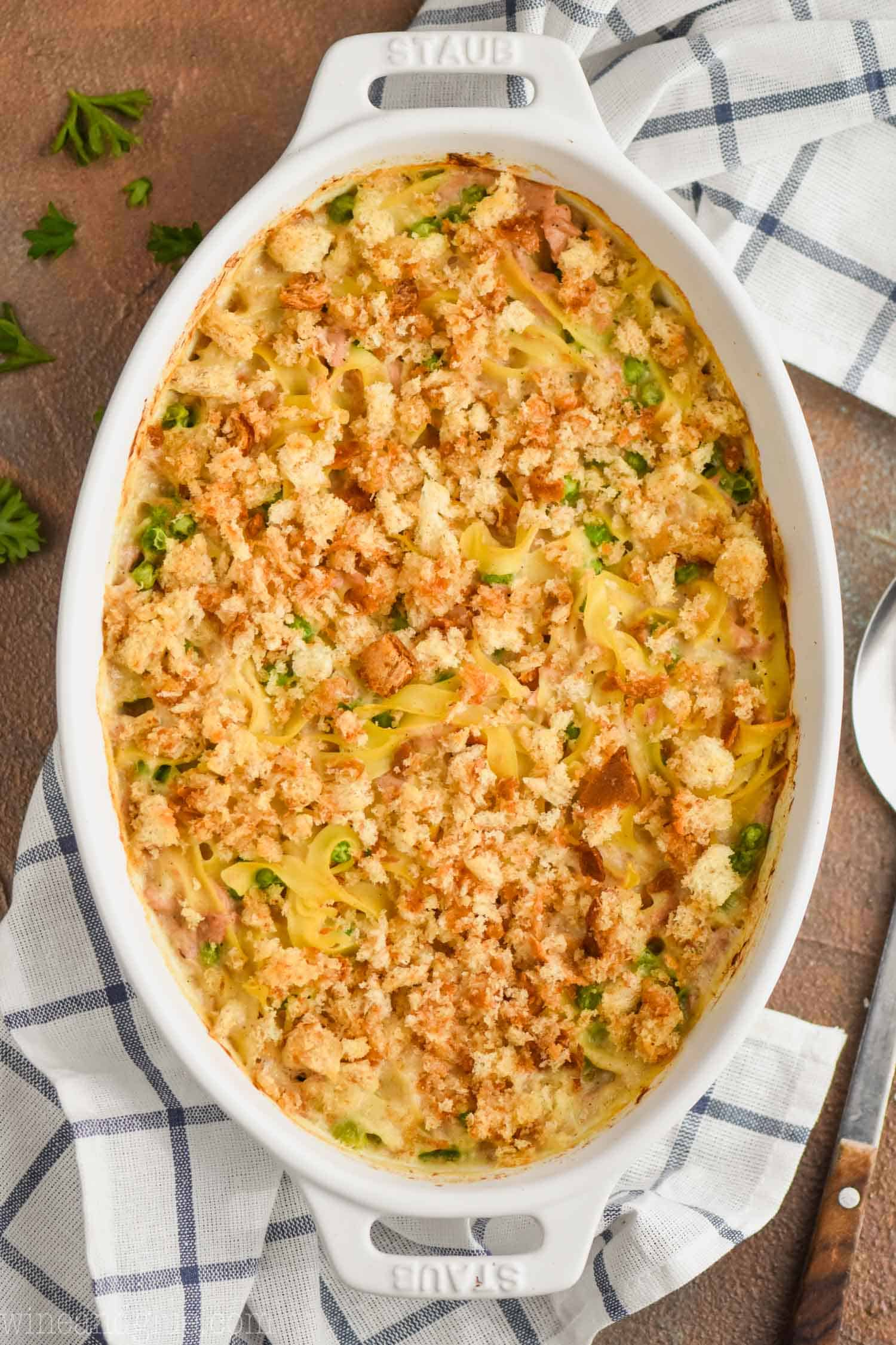 EASY TUNA NOODLE CASSEROLE RECIPE