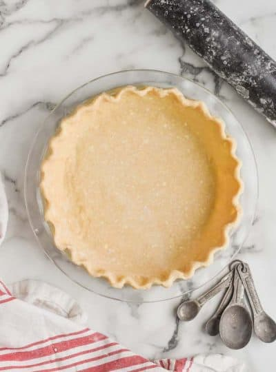 Easy Pie Crust Recipe