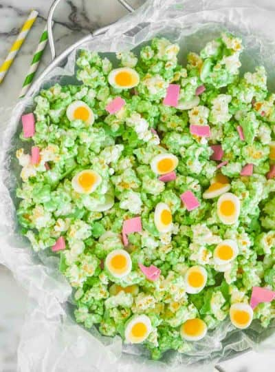 Green Eggs and Ham Popcorn