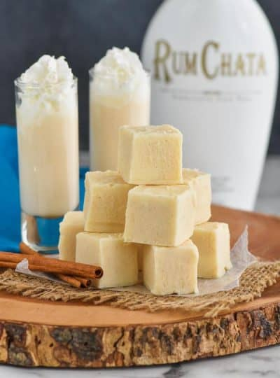 Rum Chata Fudge Recipe