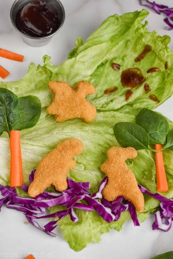 Lettuce Wraps for Kids