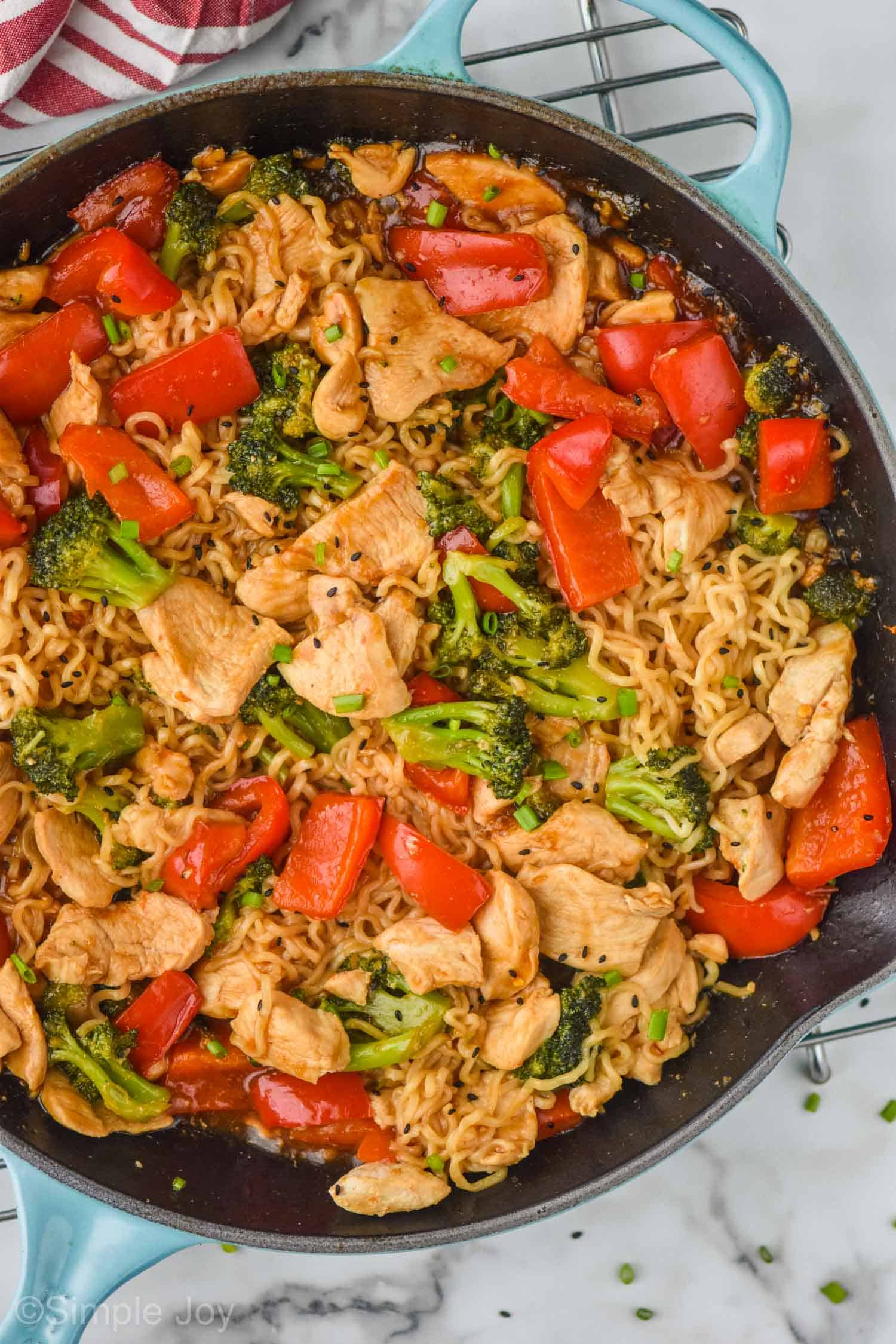 Stir Fry Noodles Simple Joy