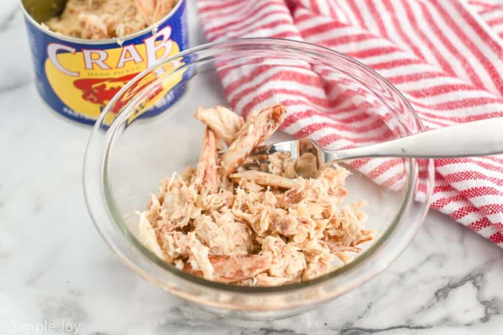 bowl of lump crab meat
