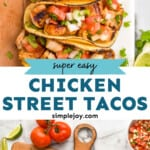 pinterest graphic of street tacos