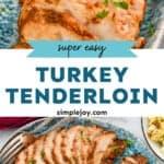 turkey tenderloin pinterest graphic