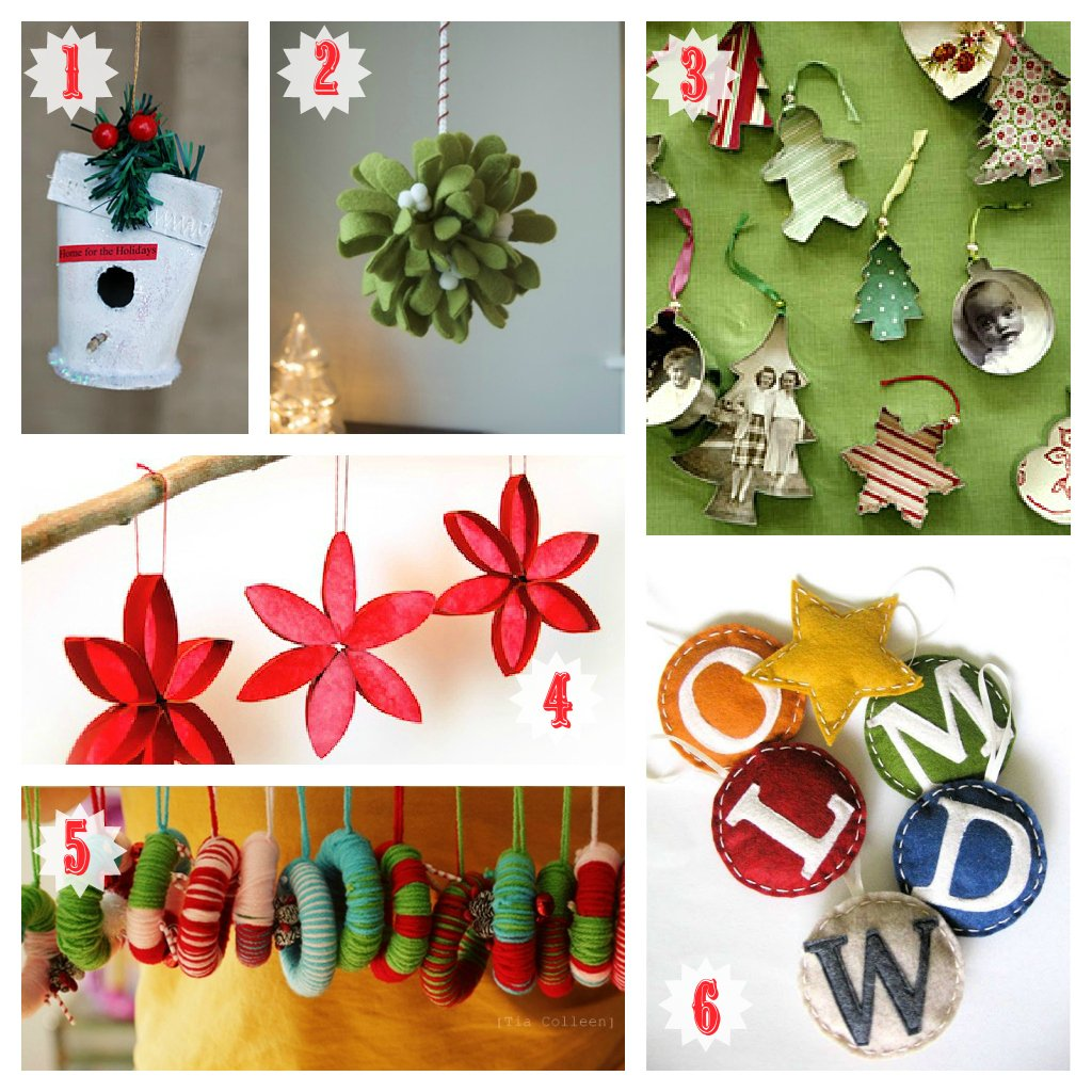 christmas ornaments - Homemade Christmas Decorations Pinterest