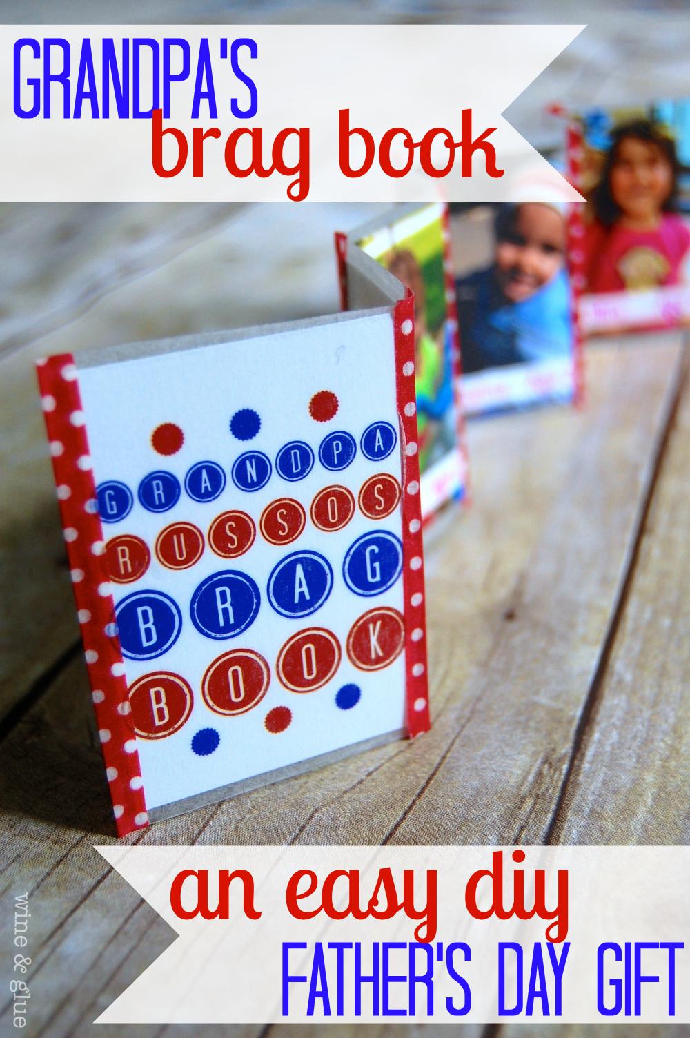 Build Presents Actress Julia Garner Discussing Ozark: Grandpa's Brag Book {DIY Father's Day Gift}