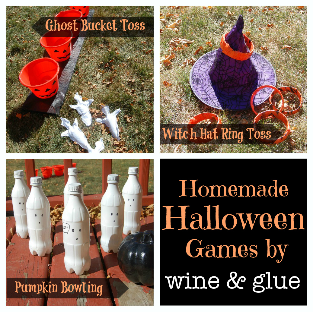 homemade halloween games