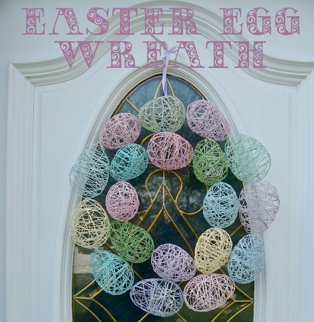 c4c0a680ddf7 Easter Egg Wreath - Wine   Glue