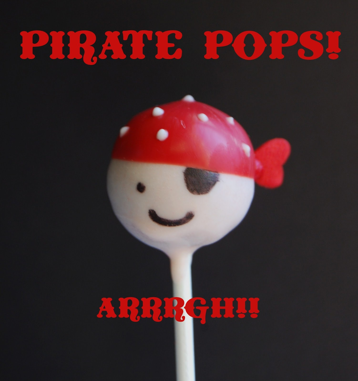 pirate cake pop