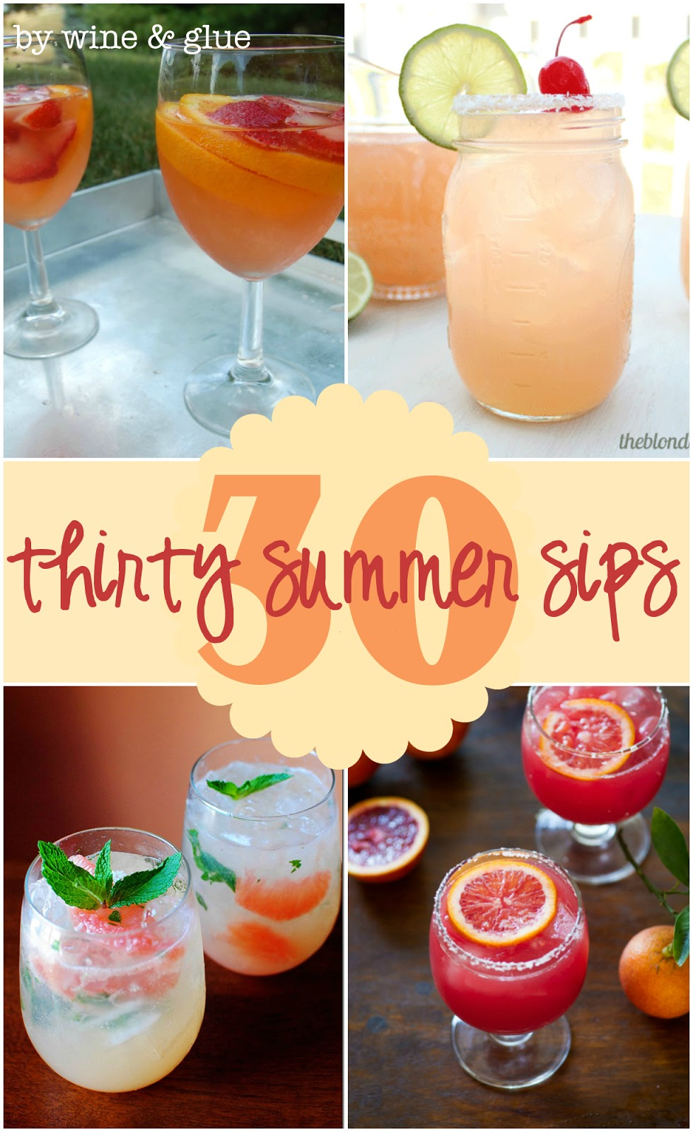 30 Delicious Summer Cocktails